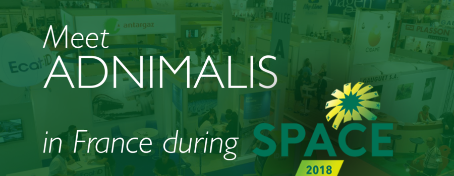 ADNIMALIS exhibits at SPACE 2018